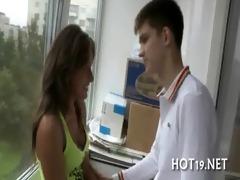 stranger bangs the girl