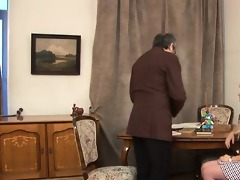 oral-job for a sexually excited teacher