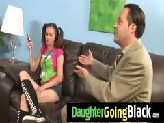 just watching my daughter fucking a dark schlong