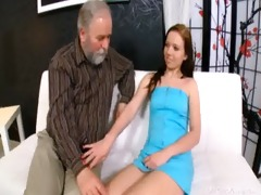 beautiful sweetheart is willing to engulf pounder
