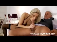 juvenile british bitch gives aged boy oral