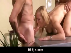 hawt old youthful trio fuck