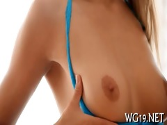gal is undressing on webcam