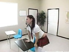 hawt legal age teenager uses her face hole to