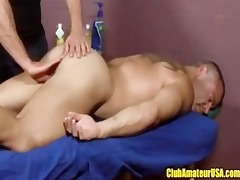 muscle dad acquires fingered