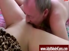 old stud copulates youthful honey -