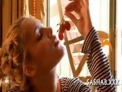 licking balls for hirsute shaft