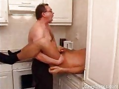 chap in glasses rimming his younger ally in the