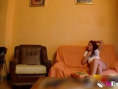 spanish beauty fucking with a hidden webcam