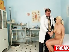 czech golden-haired wench alexa ballsy harassed