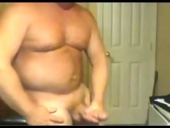 strong large pecker dad busts a hawt nut!