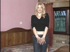 8011-4 nicola lander undresses then drilled from