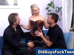 old boys fuck hawt younger chick
