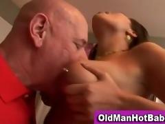 old boy fellatio by hawt younger hottie