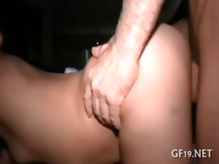 breasty bitch gets a large pecker
