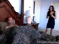 hawt cheyenne receives drilled in daybed
