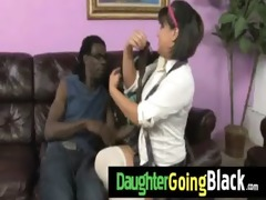 just watching my daughter going black 8