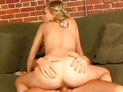 cute small blond bonks her friends brother