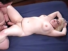 wicked fat chick taking old dad rod