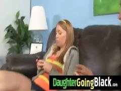 watch my daughter taking a hard darksome shlong 8