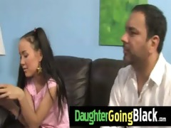 see how my daughter is drilled by a black fellow 1