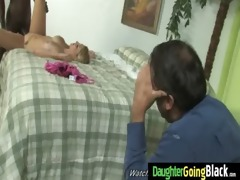 youthful daughter with priceless wazoo drilled by