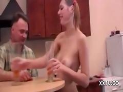 dad copulates his son&#856 s girlfriend