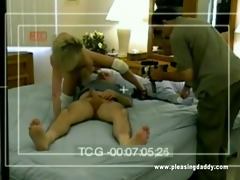 juvenile blonde lainey engulf and fuck dave