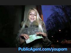 publicagent breathtaking blonde, stunning reality
