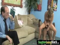hot juvenile daughter receive screwed hard by