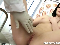 slit exam turns into filthy sex
